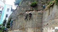 Klettersteig Decin : Erlebnisse tetschen ferrata u klettersteig